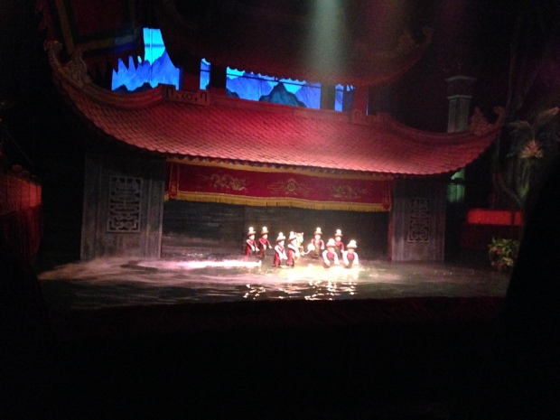 Thang Long Water Puppet Theatre, Hanoi
