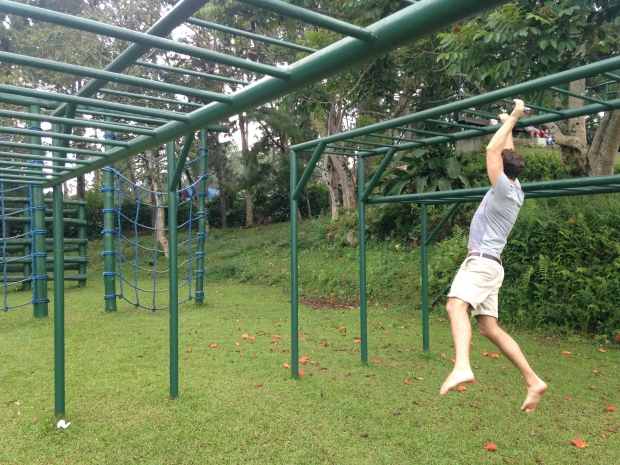 Eden Nature Park: Obstacle course