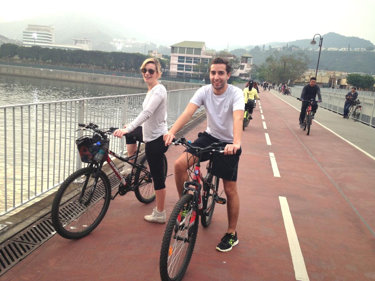 Cycling in Hong Kong: Tai Wai to Ma On Shan
