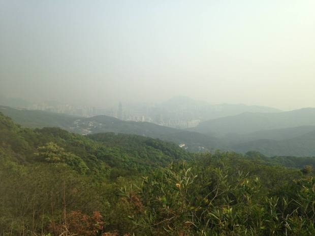 ...and of the Tsuen Wan skyline in the end
