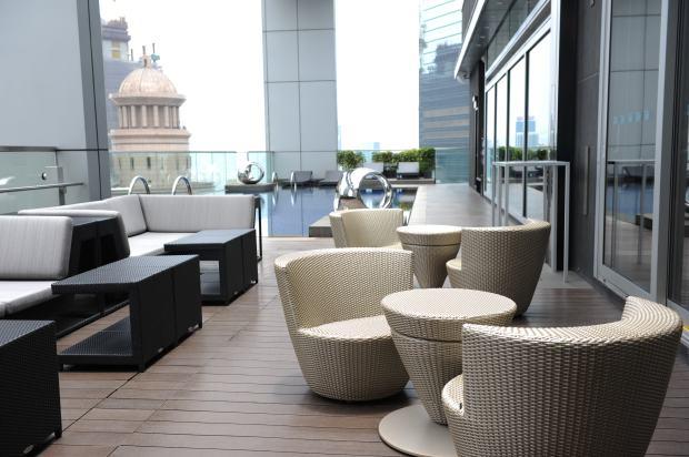 Club @28 - outdoor terrace