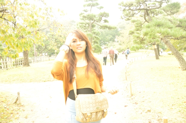 me in Tokyo (Hamarikyu Gardens) back in 2011