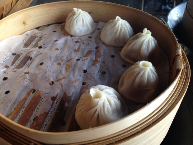'Brunchers' begin with a lavish buffet of traditional, creative dim sum and Northern Chinese appetizers.