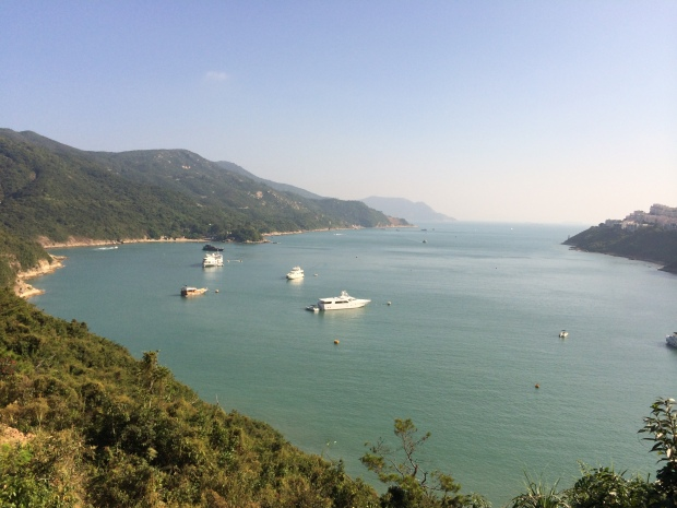 See what I mean? Tai Tam Bay