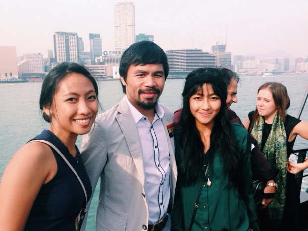 October 26, 2014: Harbour Cruise with Manny Pacquiao