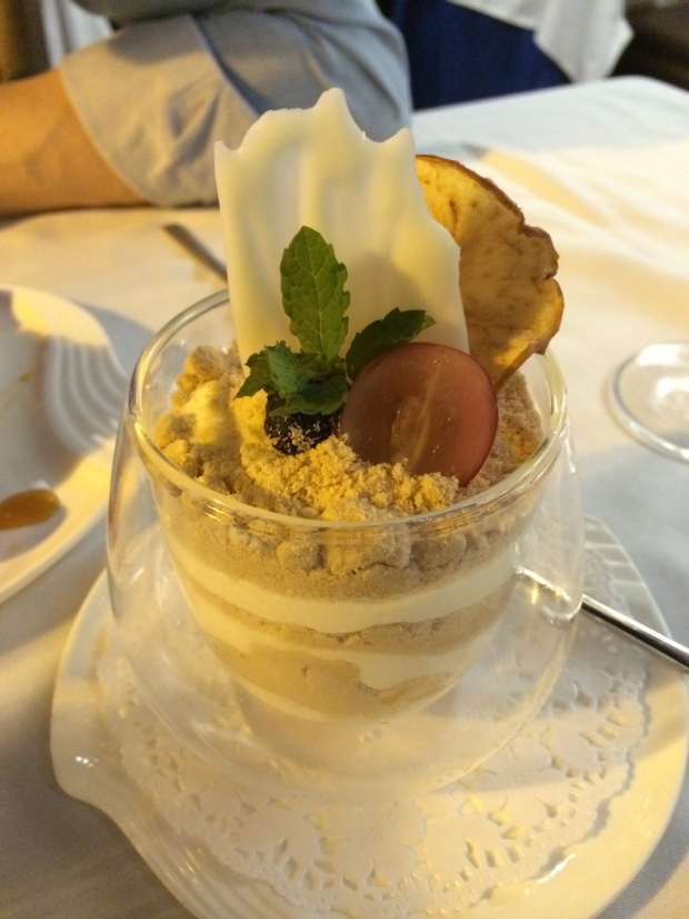 Serradura - the most famous Macanese dessert, made of cream and crushed biscuits. I had one Friday AND Saturday night, in separate places. Wonder where I can get my Serradura fix in Hong Kong?