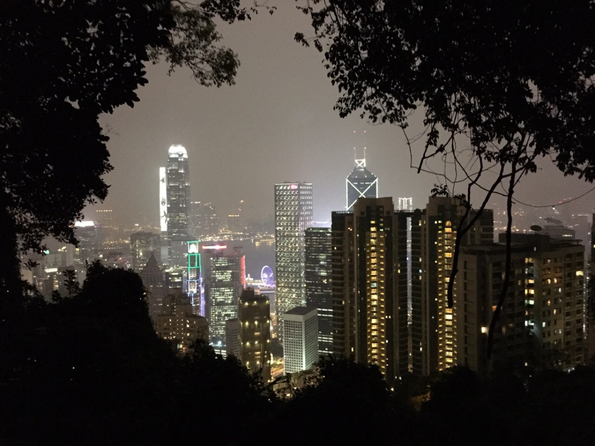 *New Route!* Easy Hike to The Peak from Central/Admiralty via the Central Green Trail