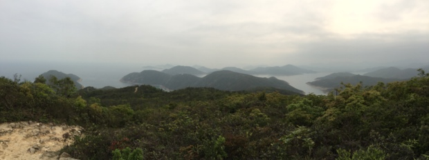 "Keep following the ""Maclehose Trail Section 2"" signs pointing towards Sai Wan beach"