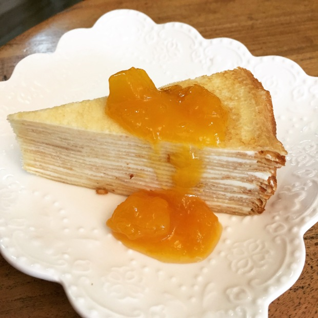 This delicious mille feuille crepe with jam awaits at Let's Jam, Sai Kung Town - my new go-to place for food in Sai Kung