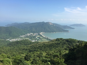 View of Pui O from South Lantau Country Trail