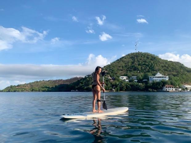 Coron Busuanga Bay Paddle Boarding