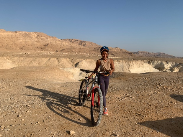 Cycling Israel Biking Wadi Prazim Desert IMG_5933